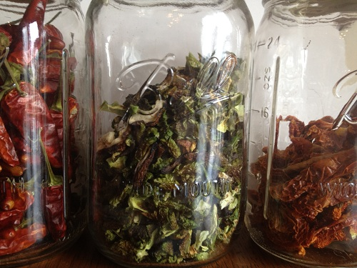 From the garden to jar